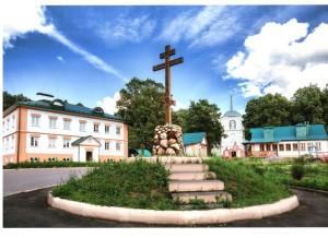 Демьяново панорама церковных зданий